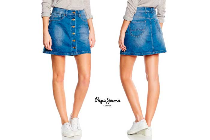 falda pepe jeans khloe