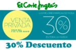 Venta Privada El Corte Inglés 30% Descuento Junio 2016