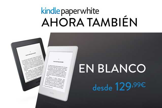 kindle paperwhite blanco barato descuento novedad blog de ofertas