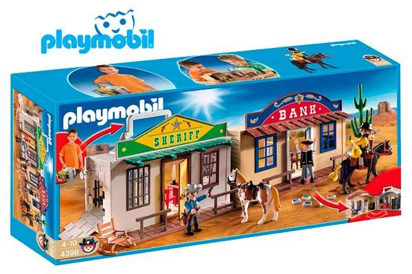 maletin del oeste playmobil 4398 barato descuento rebajas ofertas chollos amazon juguetes cli