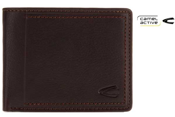 monedero camel active marron