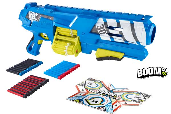 pistola boomco spinsanity