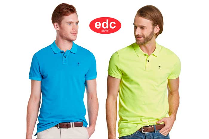 polo edc slim fit barato descuento chollos ofertas blog de gangas rebajas amazon