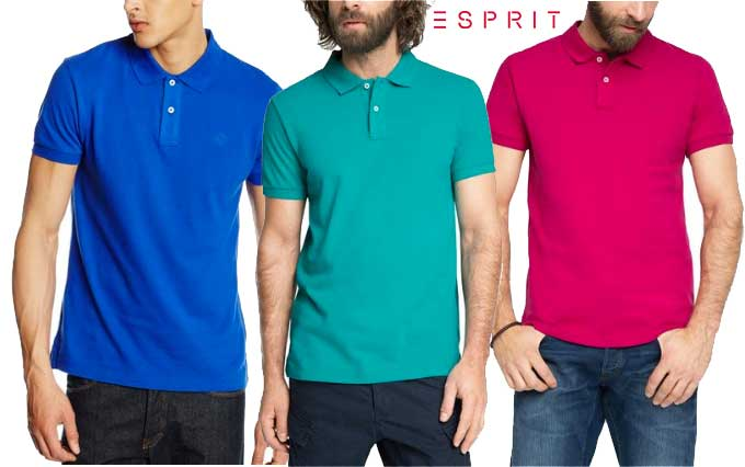 polo esprit basic barato slim fit descuento rebajas blog de ofertas chollo