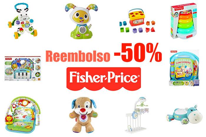 reembolso 50 descuento fisher price blog de ofertas rebajas bdo