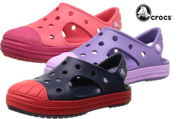 sandalias crocs bump it k