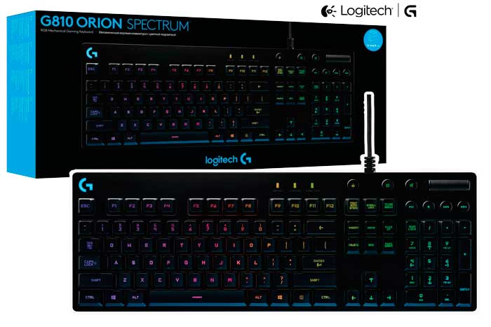 teclado logitech g810 barato mecanico orion spectrum rebajas blog de ofertas chollos rebajas gaming