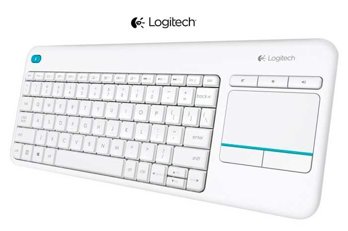 teclado logitech k400 plus barato descuento rebajas blog de ofertas