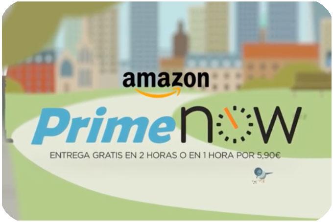 amazon primenow envíos urgentes 2 horas gratis