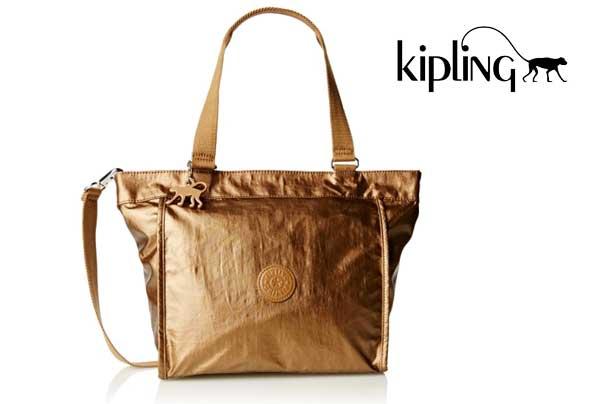 espiral Donación Libro Guinness de récord mundial  Chollo! Bolso Kipling New Shopper S barato 29€ ▻64% Descuento