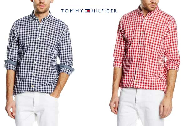 camisa Tommy Hilfiger Basic Gingham barato oferta descuento chollo bdo