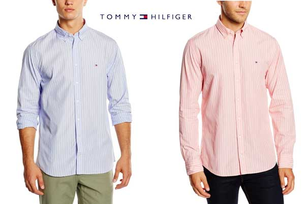 camisa Tommy Hilfiger Es Fil A barata oferta descuento chollo bdo