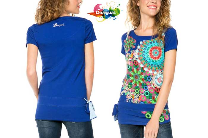 camiseta desigual donna barata chollo rebajas blog de ofertas
