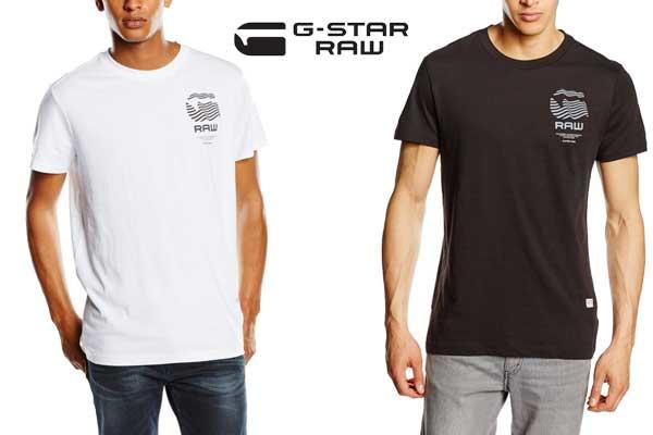 camiseta g star raw stoor barata oferta descuento chollo bdo