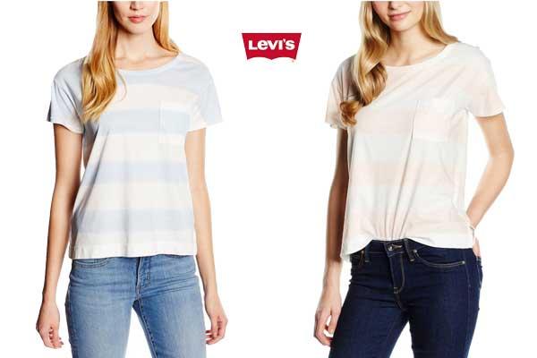 camiseta levis Boyfriend barata oferta descuento chollo bdo