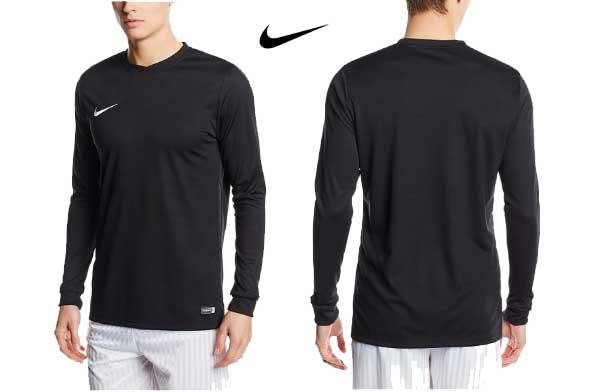camiseta manga larga nike park barata descuento rebajas blog de ofertas