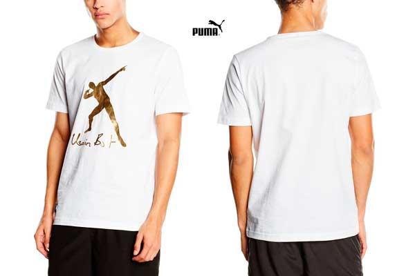 camiseta puma Usain bolt barata oferta descuento chollo bdo