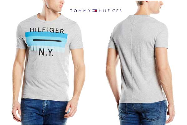 camiseta tommy hilfiger single jersey barata oferta chollo descuento bdo