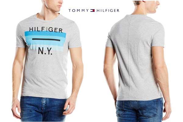 camiseta tommy hilfiger single jersey barata oferta chollo descuento bdo