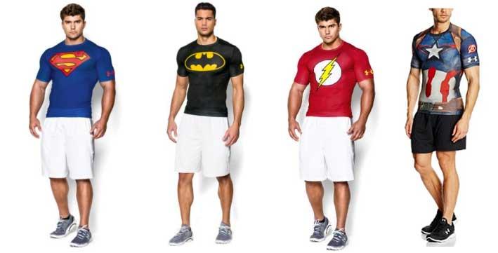 camisetas de compresion under armour superheroes baratas rebajas blog de ofertas