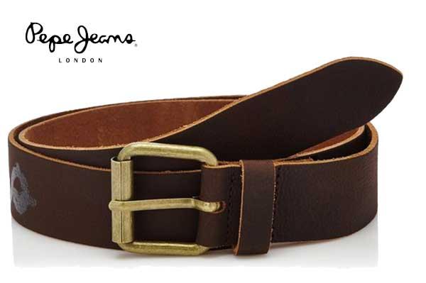 cinturon pepe jeans marron PM020392 bdo oferta chollos descuentos