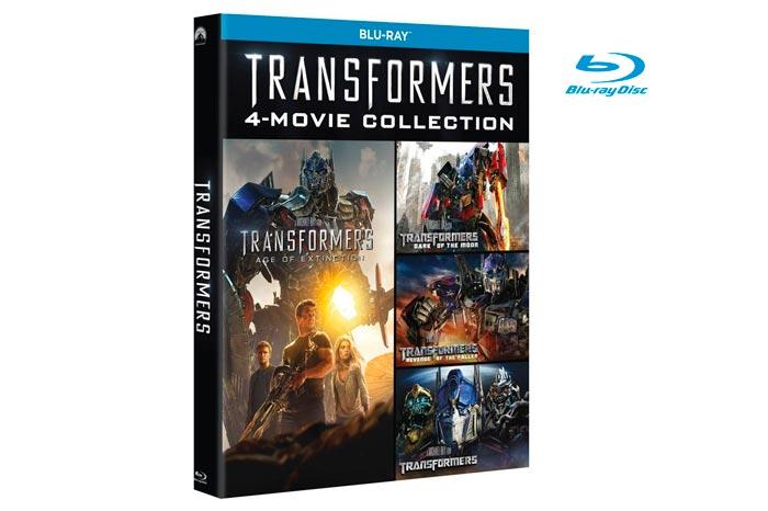 coleccion transformers blu-ray barata descuento rebajas blog de ofertas chollos