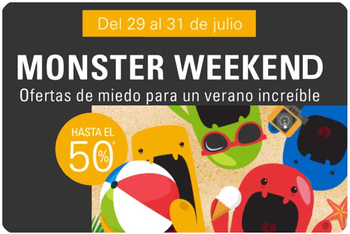 monster weekend en ebay blog de ofertas julio