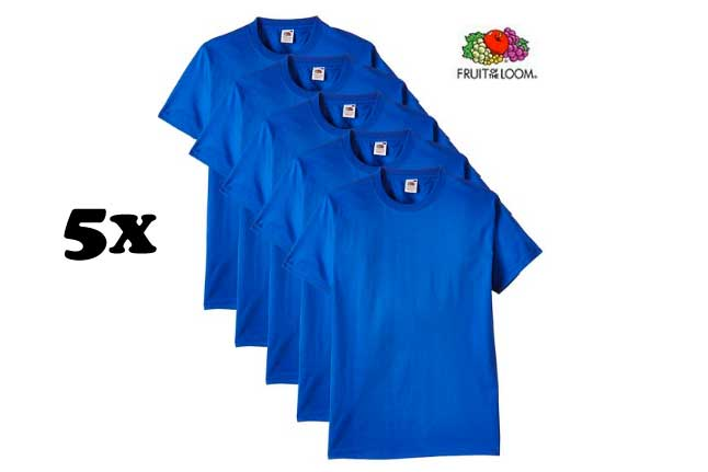 pack 5camisetas fruit of the loom baratas blog de ofertas rebajas