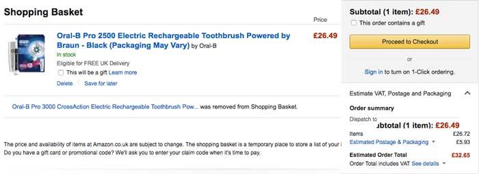 precio cepillo oralb pro 2500 barato blog de ofertas