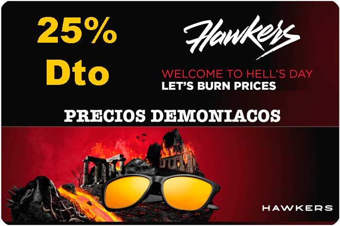 código descuento 25% hawkers