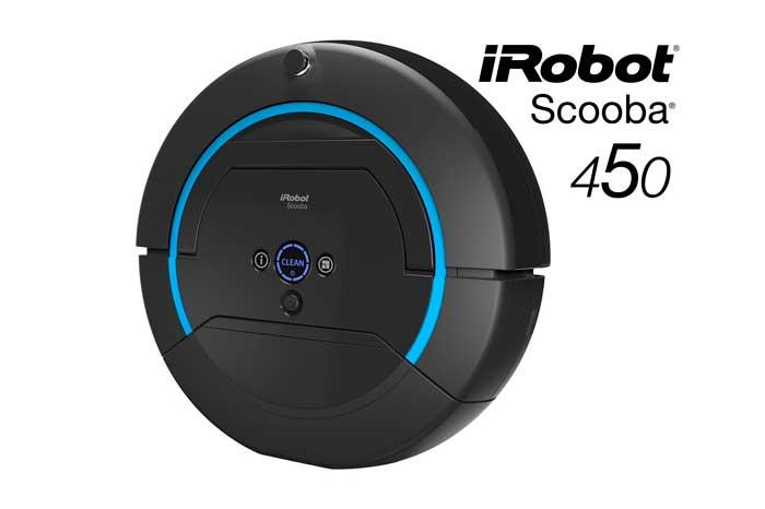 robot fregasuelos irobot scooba 450 barato descuento rebajas blog de ofertas