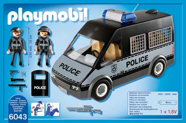 set furgon policia playmobil 6043 barato rebajas blog de ofertas