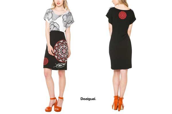 vestido desigual BLACKKULLE--barato-oferta-descuento-