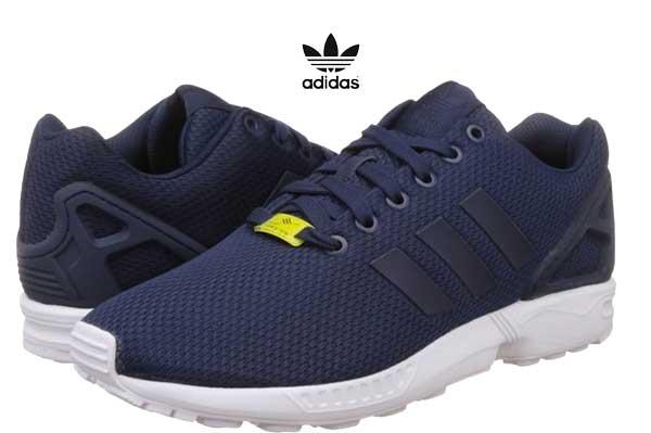 adidas zx flux zapatillas azules