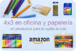 4×3 Material Escolar en Amazon hasta 13 Noviembre