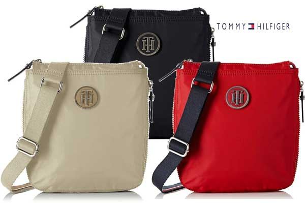 BOLSO TOMMY HILFIGERSporty Small Crossover BARATO OFERTA DESCUENTO CHOLLO BLOG DE OFERTA