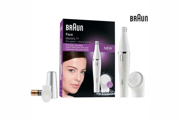 Depiladora y cepillo de limpieza facial Braun Face 810 barato oferta descuento chollo blog de oferta