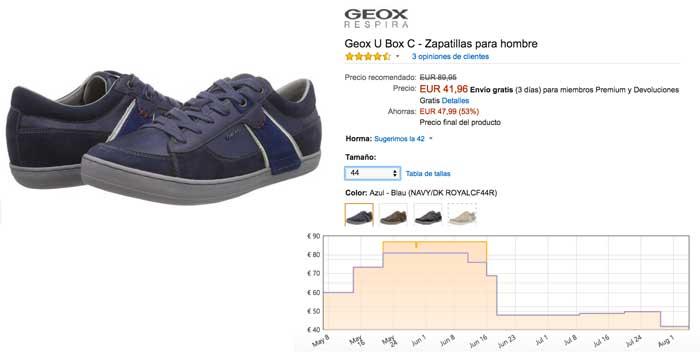 zapatillas geox u box c baratas