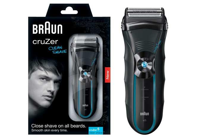 Afeitadora Braun CruZer 5 barata