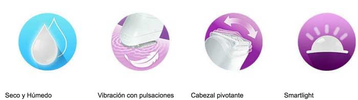 braun silk epil 9 barata caracteristicas