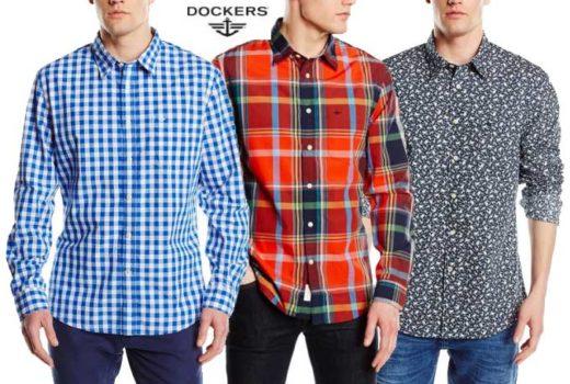 camisa dockers loundered poplin barata rebajas chollos amazon descuentos blog de ofertas BDO