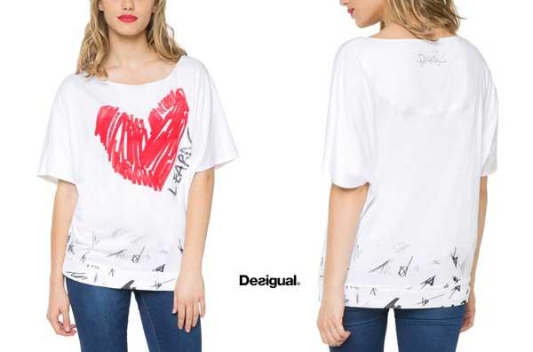 camiseta desigual domingo barata oferta descuento chollo blog de ofertas