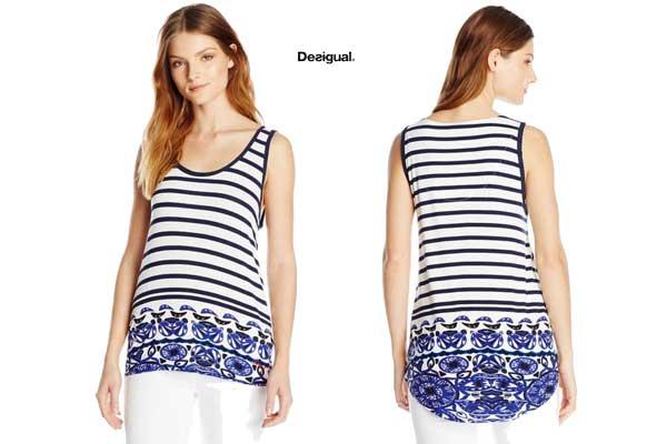 camiseta desigual elsa barata oferta chollo descuento blog de ofertas
