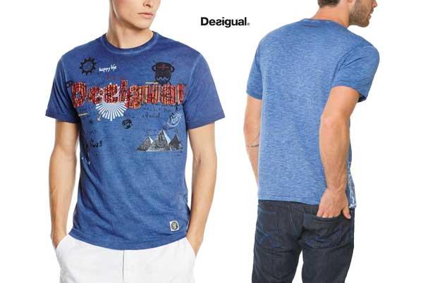 camiseta desigual tkat Branding barata oferta descuento chollo blog de ofertas