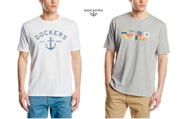 camiseta dockers Graphic Crewneck baratas ofertas descuentos chollos blog de ofertas