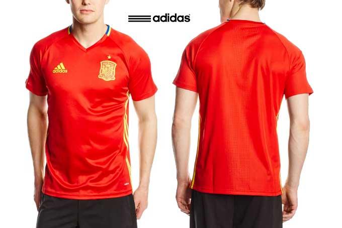 camiseta entrenamiento españa 2016 barata rebajas chollos amazon blog de ofertas BDO