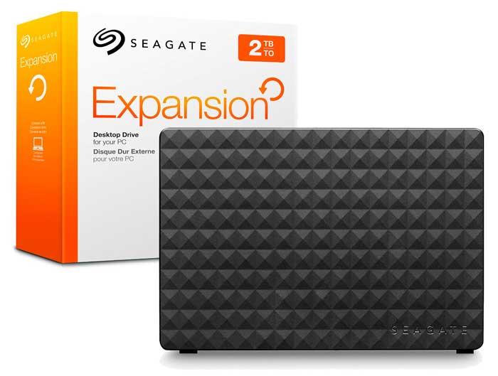 disco duro externo seagate expansion 2tb barato rebajas chollos amazon blog de ofertas BDO