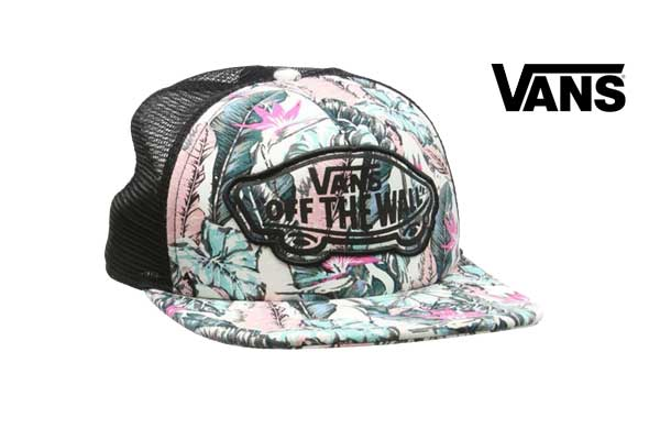 gorra vans Beach Girl Trucker oferta descuento chollo bdo