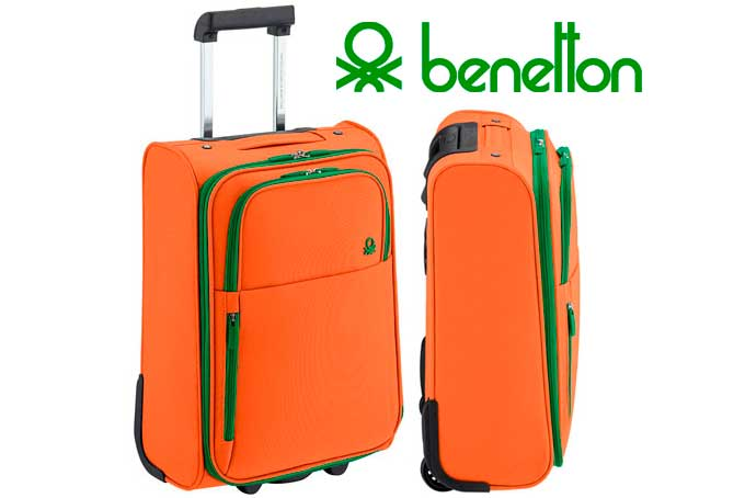 maleta trolley benetton barato rebajas chollos amazon blog de ofertas BDO