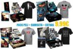 ¡Chollo! Pack Película + Camiseta + Extras barata 9,99€ -58% Descuento